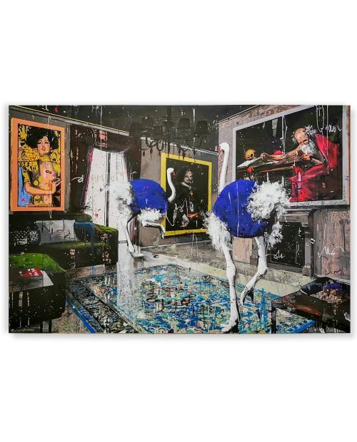 Misplaced 2018 - 80x120 cm - serigrafia