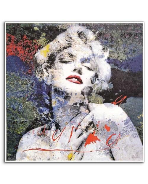 Giuliano Grittini - Marilyn 9 - 91x91 cm
