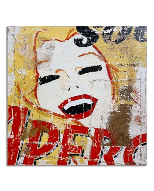 Lorenzo Crivellaro - Happy Aperol - 49x49 cm