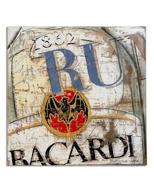 Lorenzo Crivellaro - Happy Rum - 49x49 cm