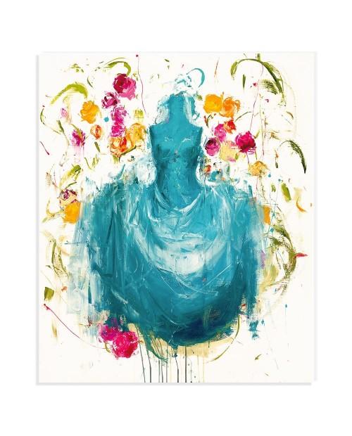 Luca Bellandi - Blue days - 117x97 cm