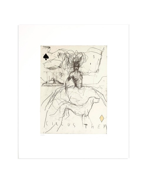 Luca Bellandi - Circus theme - 50x60 cm