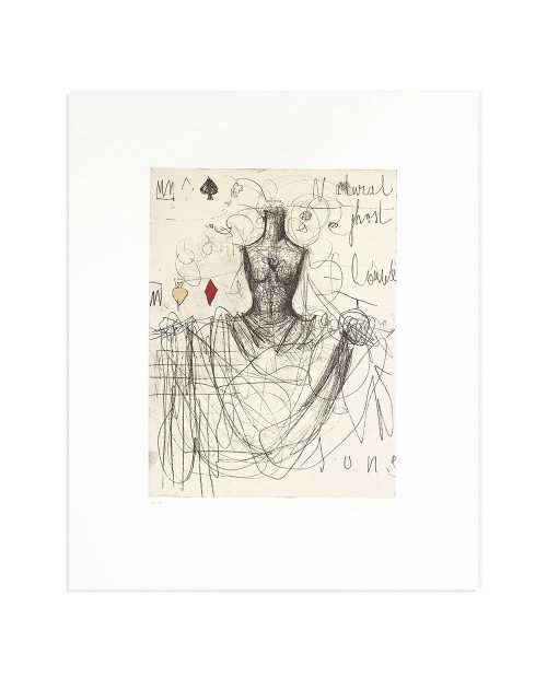 Luca Bellandi - Ghost song - 50x60 cm