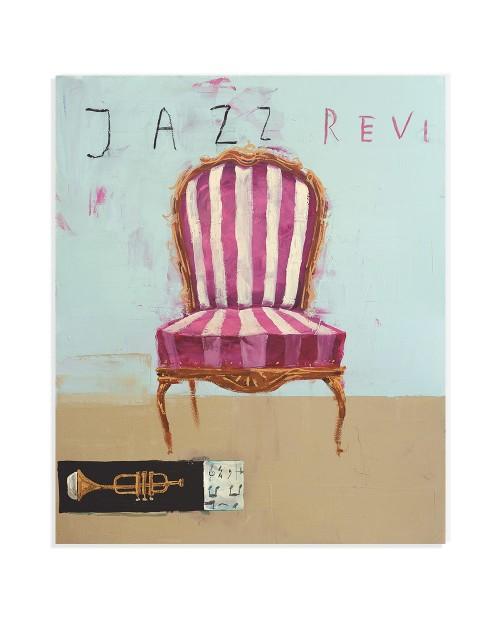 Luca Bellandi - Jazz revue - 77x96,5 cm