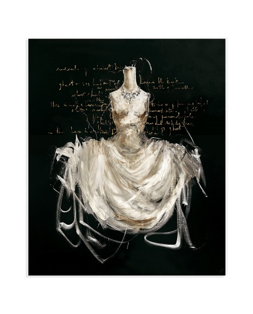 Luca Bellandi - With a jewel - 117x97 cm