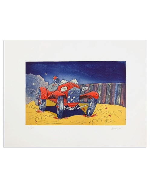 Luca Giovagnoli - Car - 50x70 cm