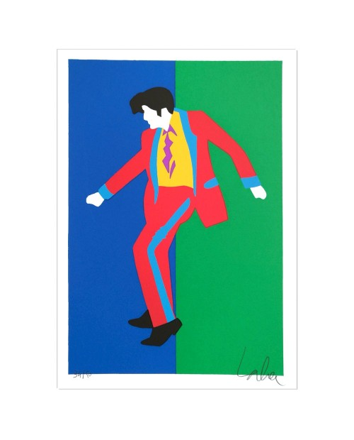Elvis - 25x35 cm - serigrafia
