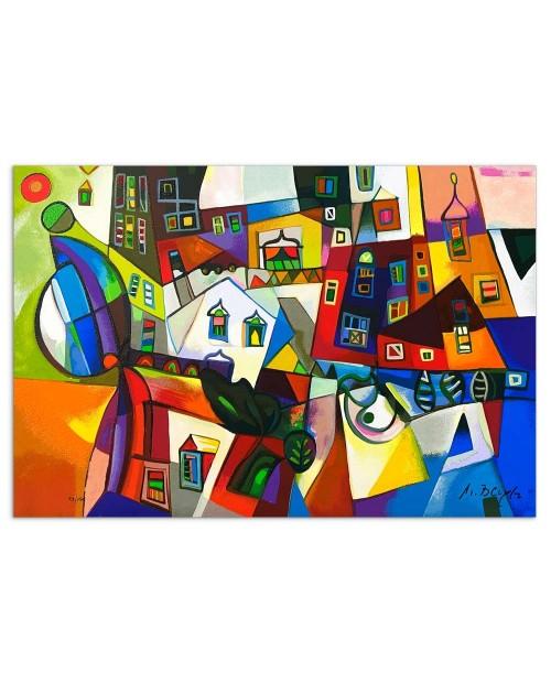 Miljenko Bengez - Motivo invernale - 40x60 cm