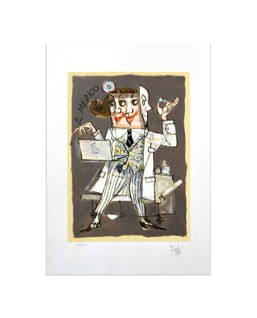 Paolo Fresu - Il medico - 35x50 cm