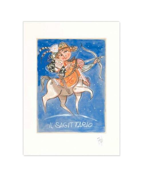 Paolo Fresu - Il sagitario - 35x50 cm