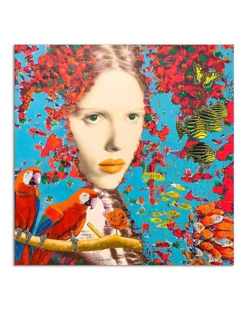 Pietro Delasco - Eden 1 - 80x80 cm