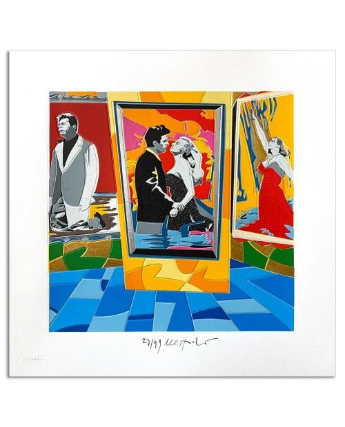 Ugo Nespolo - Marcelloooo - 35x35 cm