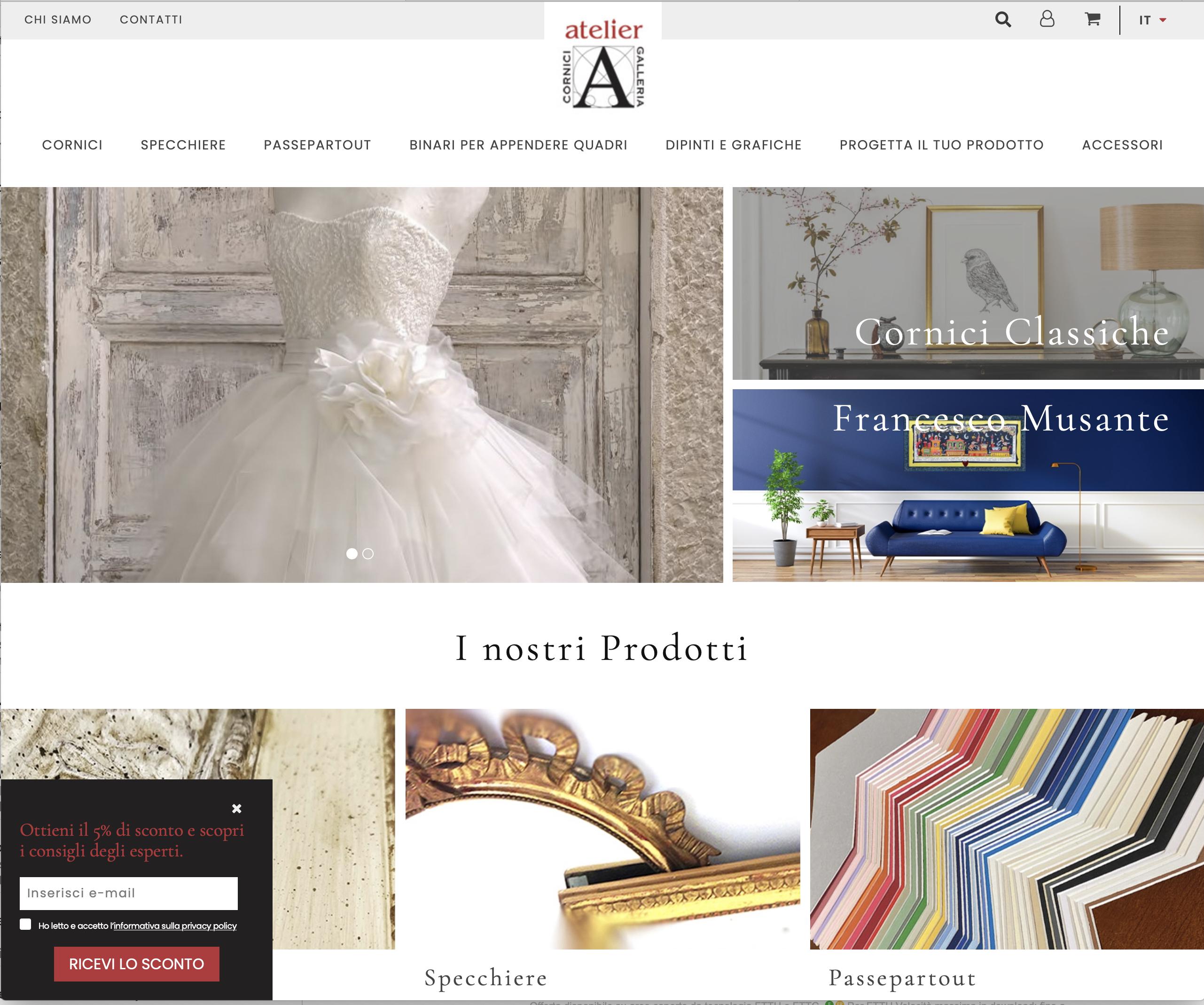 Online il nuovo Atelieronline.it!